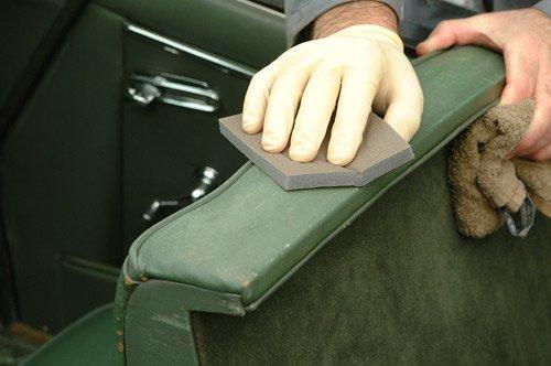 Colourlock leerrenovatie reparatie en onderhoudsproducten for Auto interieur spuiten
